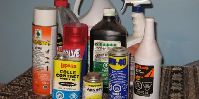 SWRC Tip - Hazardous Products