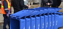 Individual bins in North Battleford reduce waste AND recycling