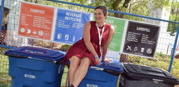 New composting program in use this year at Regina Folk Festival