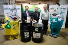 Environment Minister launches used antifreeze materials recycling program