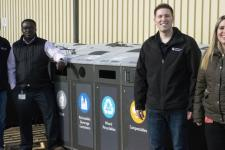 UCalgary's recycling and waste diversion bins find new home at University of Regina