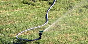 SWRC Tip - Watering the Lawn